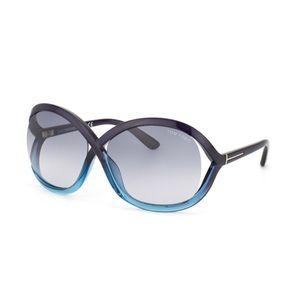 Black Teal Sandra FT 0297 / S 20B Sunglasses